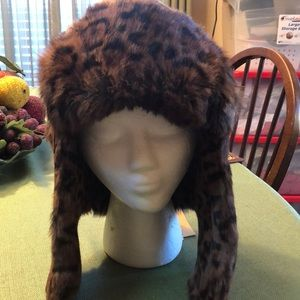 Michael Kors trapper style hat authentic NWT